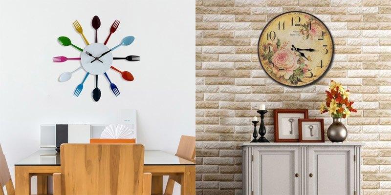 Klasične in moderne stenske ure